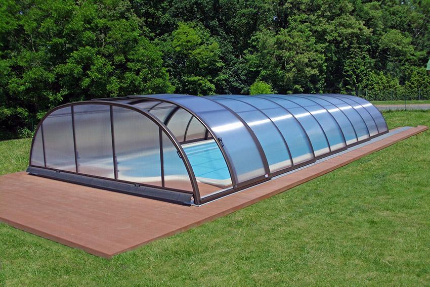 abri de piscine mobile